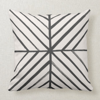 Intersect Pillow - Slate Throw Cushions