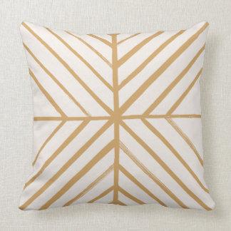 Intersect Pillow - Tan Cushion