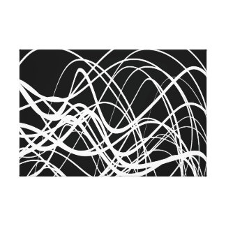 Intersecting Flow - Canvas Print