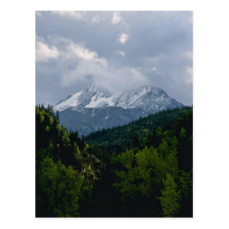 Intersecting Mountains Post Card