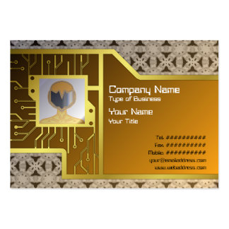Intersecting Patterns Large Business Cards (Pack Of 100)
