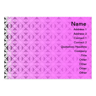 Intersecting Patterns Business Card Template