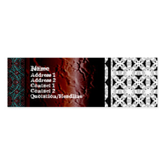 Intersecting Patterns Pack Of Skinny Business Cards