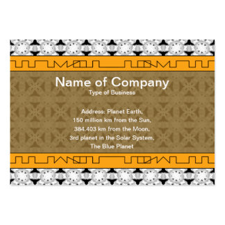 Intersecting Patterns Pack Of Chubby Business Cards
