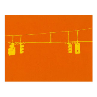 Intersection Lights Postcard