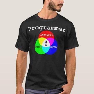 Intersection of Laziness, Skills, Coffee T-Shirt