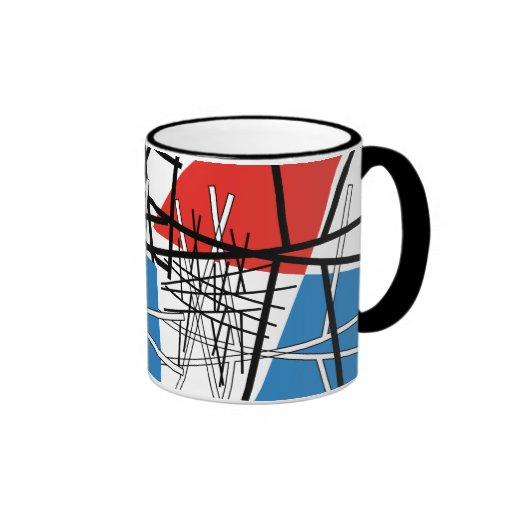 Intersection of Lines & Planes Coffee Mug
