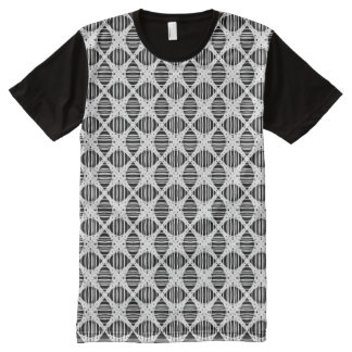 Intersection of Straight Lines (squares) All-Over Print T-Shirt