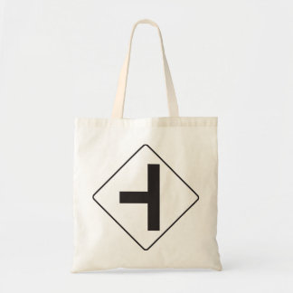 Intersection Road Sign Tote Bag