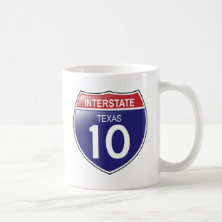 Interstate 10 in Texas Mug
