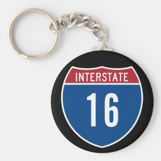 Interstate 16 key ring
