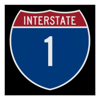 Interstate 1 poster