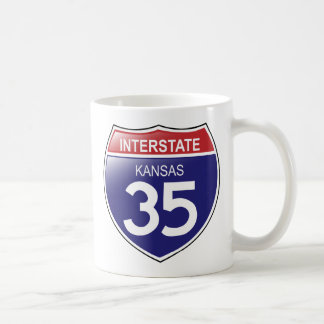 Interstate 35 in Kansas Mug