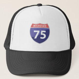 Interstate 75 (I-75) Highway Road Trip Trucker Hat