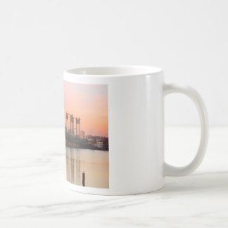 Interstate Bridge Over Columbia River at Sunset Coffee Mug