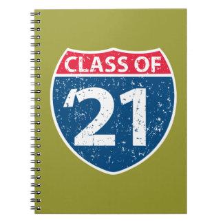 Interstate Class of '21 Notebook