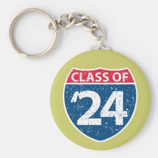 Interstate Class of '24 Keychain