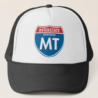 Interstate Montana MT Trucker Hat