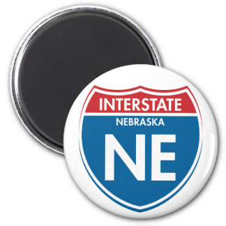 Interstate Nebraska NE Magnet