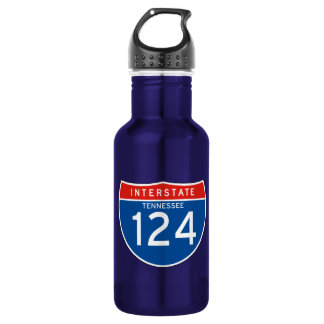 Interstate Sign 124 - Tennessee 532 Ml Water Bottle