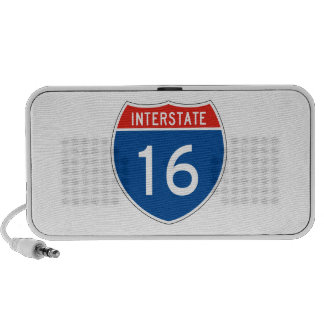 Interstate Sign 16 Portable Speakers