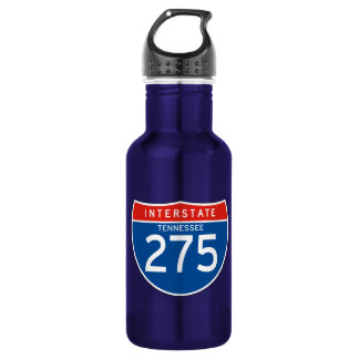 Interstate Sign 275 - Tennessee 532 Ml Water Bottle