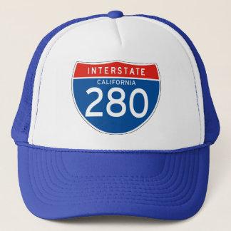 Interstate Sign 280 - California Trucker Hat
