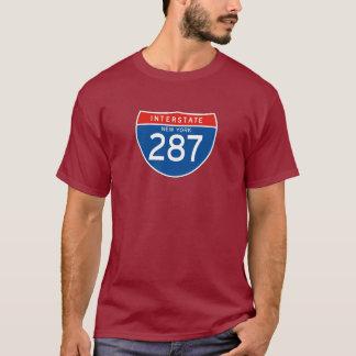 Interstate Sign 287 - New York T-Shirt