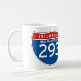 Interstate Sign 293 - New Hampshire Coffee Mug