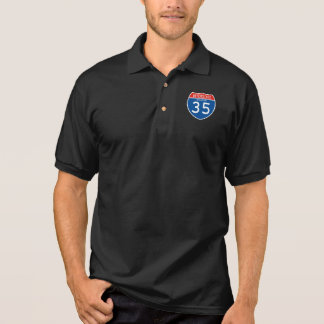 Interstate Sign 35 - Missouri Polo Shirt