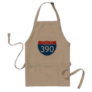 Interstate Sign 390 - New York Apron