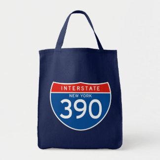 Interstate Sign 390 - New York Bag