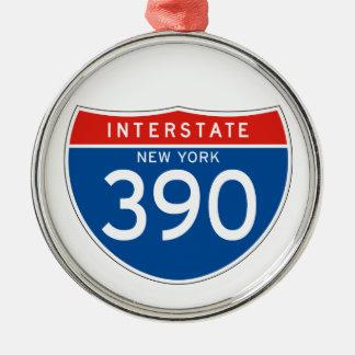 Interstate Sign 390 - New York Ornament