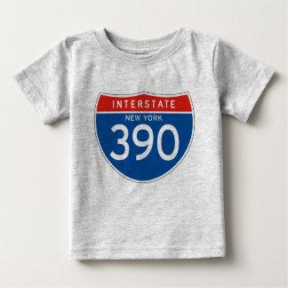 Interstate Sign 390 - New York Infant T-Shirt
