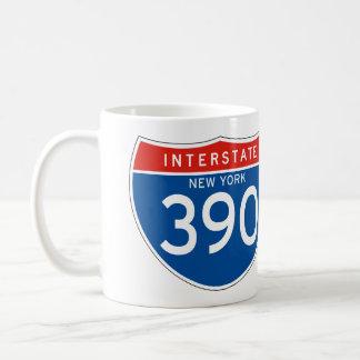 Interstate Sign 390 - New York Mug