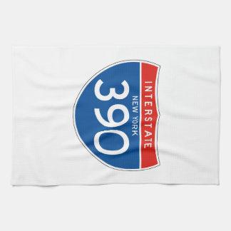 Interstate Sign 390 - New York Towel