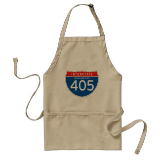 Interstate Sign 405 - Washington Apron