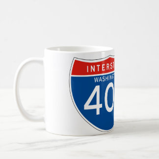 Interstate Sign 405 - Washington Coffee Mug