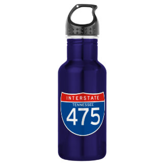 Interstate Sign 475 - Tennessee 532 Ml Water Bottle