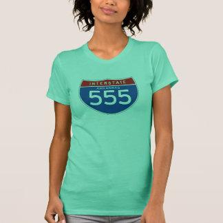 Interstate Sign 555 - Arkansas T-Shirt