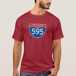 Interstate Sign 595 - Florida T-Shirt