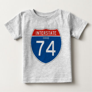 Interstate Sign 74 - Ohio Shirts