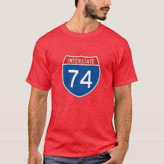 Interstate Sign 74 T-Shirt