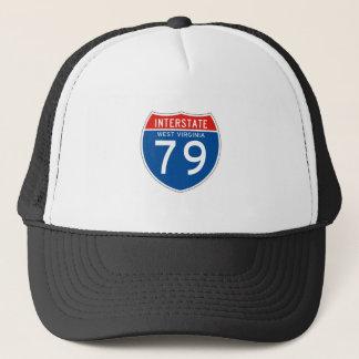 Interstate Sign 79 - West Virginia Trucker Hat