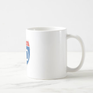 Interstate Sign 80 - Ohio Coffee Mug