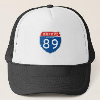 Interstate Sign 89 - Vermont Trucker Hat