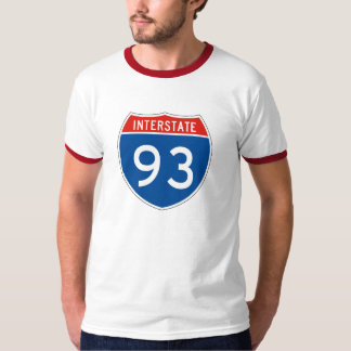 Interstate Sign 93 T-Shirt