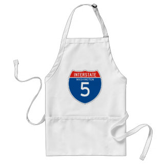 Interstate Sign the 5 - Washingtons Apron