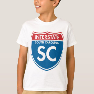 Interstate South Carolina SC T-Shirt