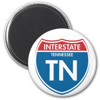 Interstate Tennessee TN Magnet